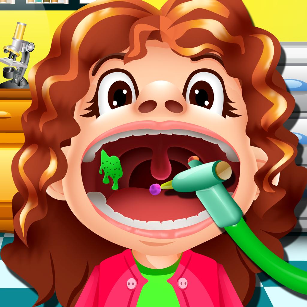 Awesome Throat Doctor Free - Fun Kids Games
