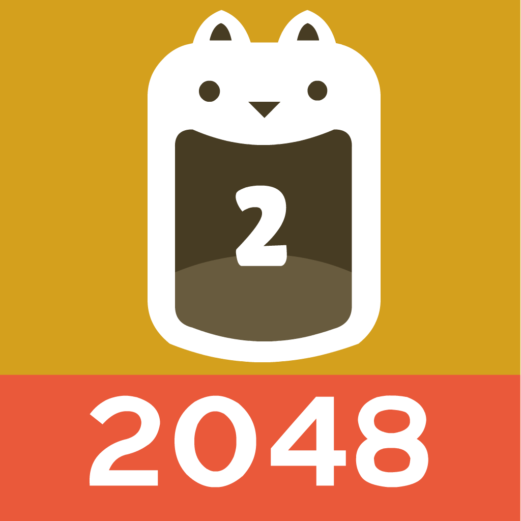 2048 Cats - match puzzle free
