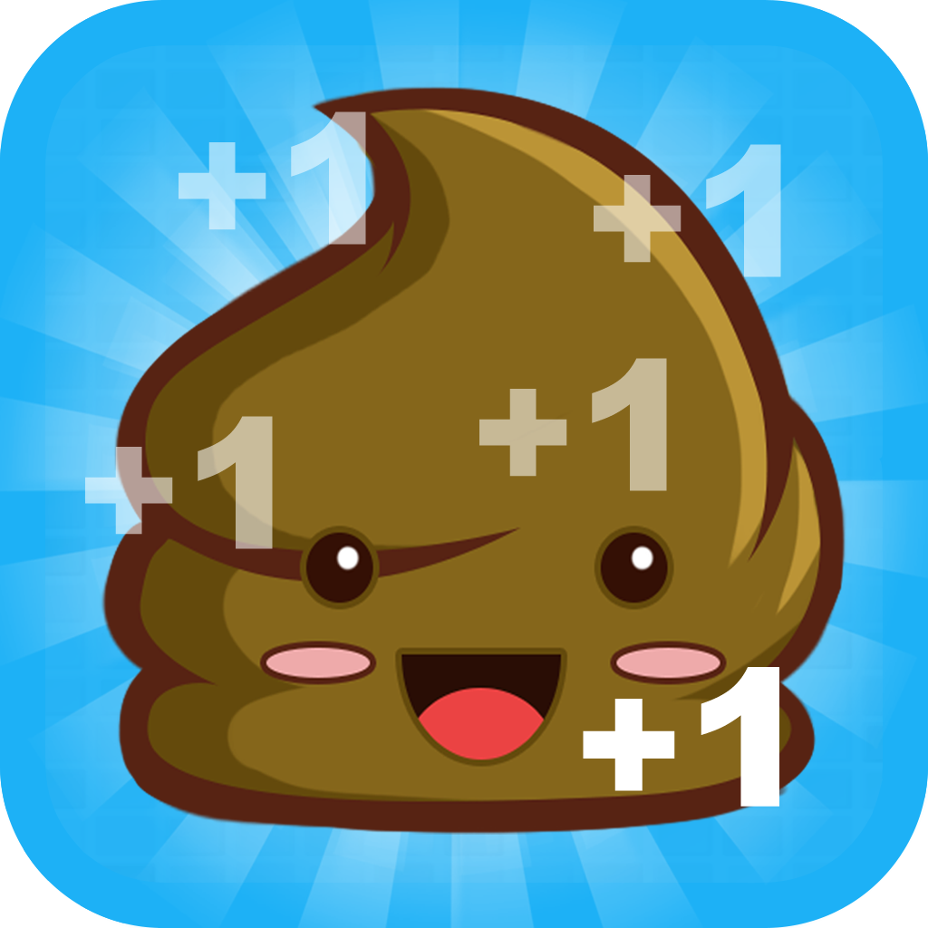 Crazy Poo Clicker - Click Dash Mania icon