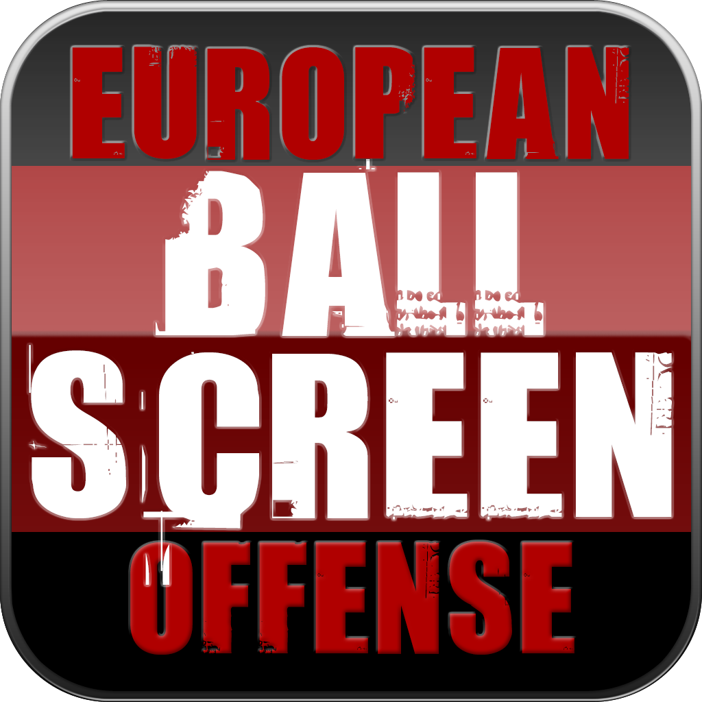 The European Ball Screen Offense: Man To Man Continuity Actions & Plays - With Coach Lason Perkins - Full Court Basketball Training Instruction - XL icon