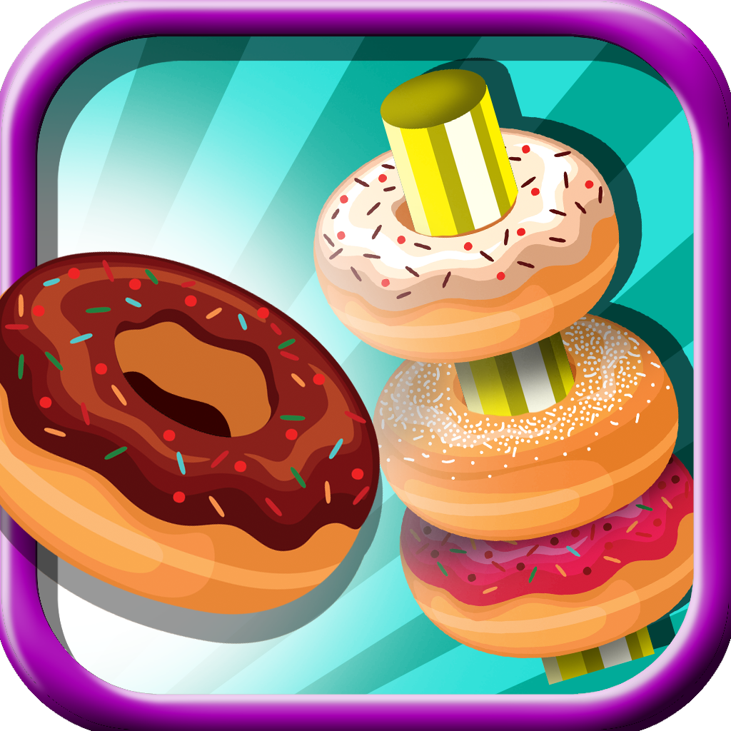 Donut Toss - Aim And Throw The Rings