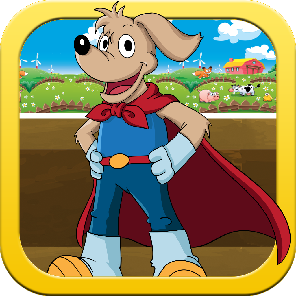 A Long Jump adventure - A Super Hero Animal Jumping Game for Kids