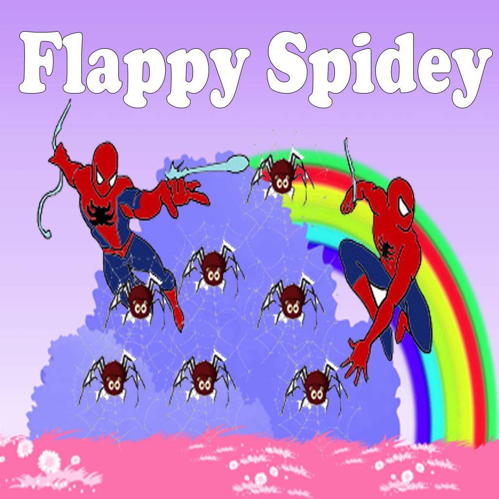 Flappy Spidey.Flappy Spiderman
