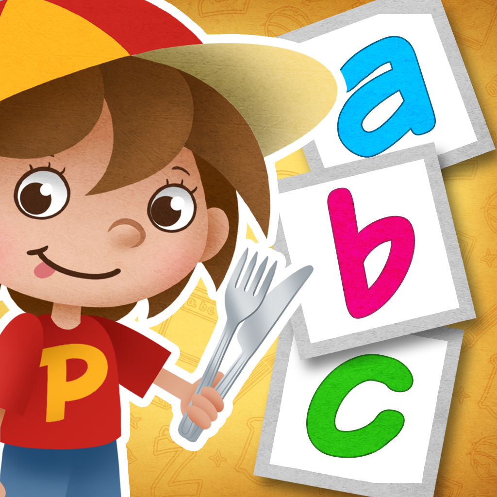 "Eat Salad! : First part of ""Read With Pen"" series - apps that will teach your toddler to read!"