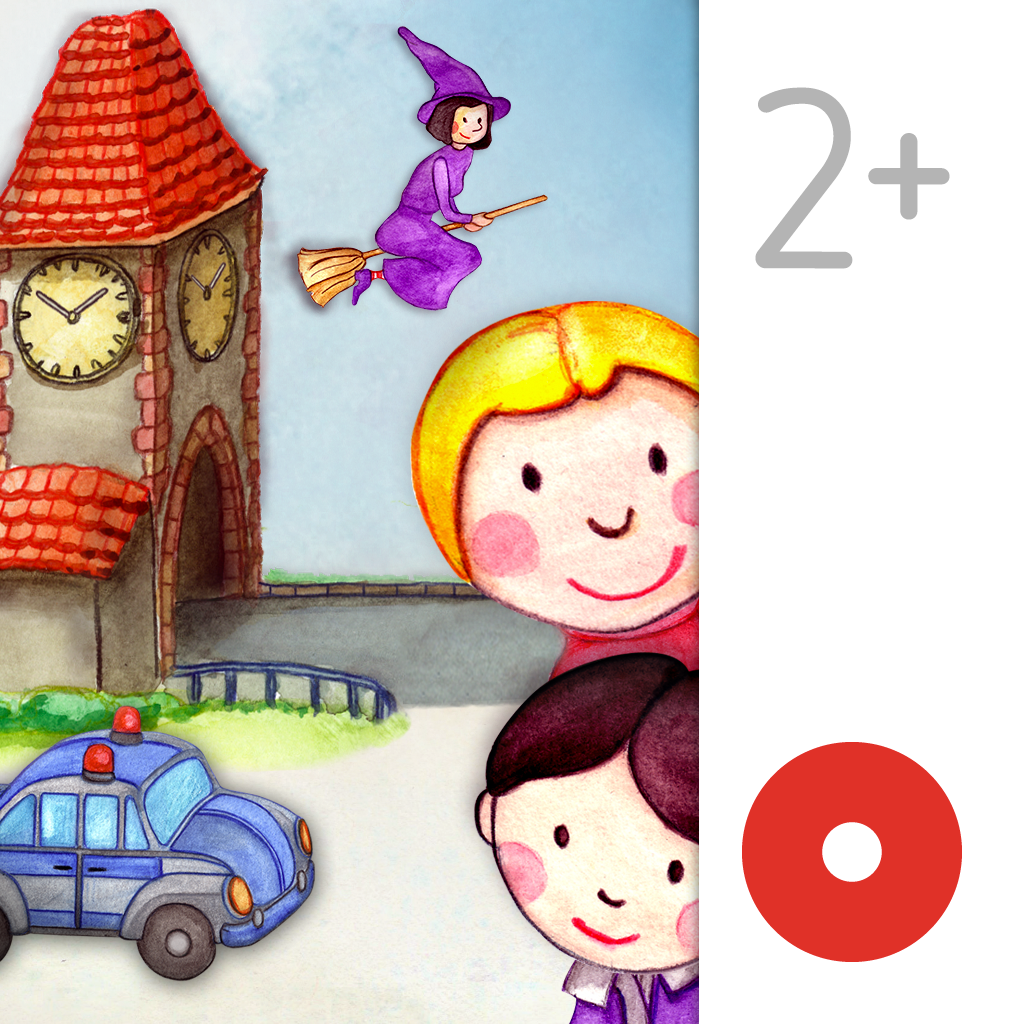 My Little Town: Toddler's Seek & Find. An interactive picture book.