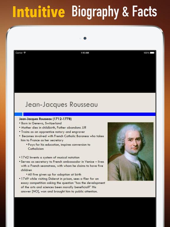 jacques rousseau french philosophers