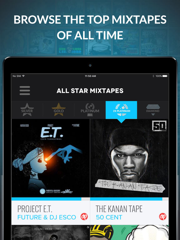 How to download mixtapes from datpiff app