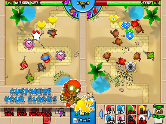 #5. Bloons TD Battles (iOS)