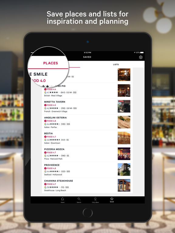 zagat trusted restaurant ratings and reviews on the app store. Black Bedroom Furniture Sets. Home Design Ideas