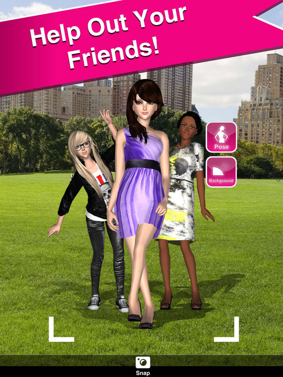 dd051ec5d6 Style Me Girl - Free 3D Fashion Dressup screenshot