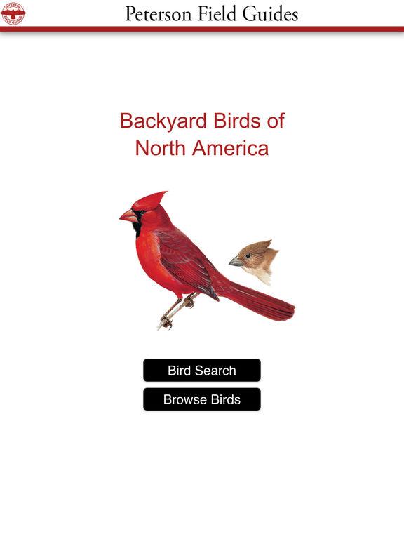 Peterson Field Guides - Backyard Birds - appPicker
