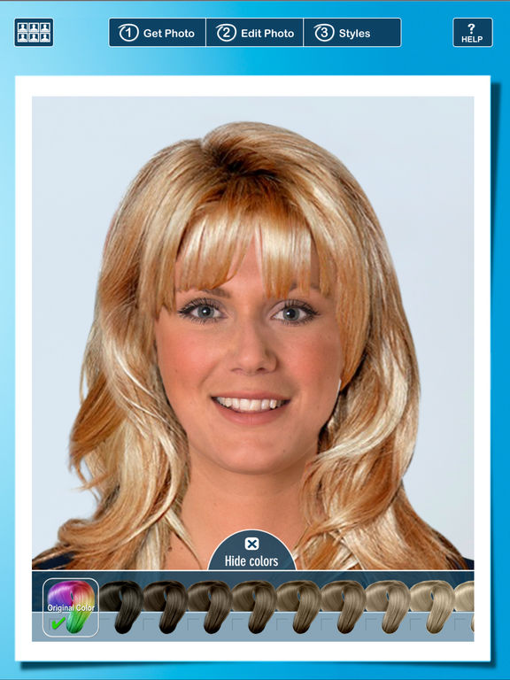Hairstyle PRO Try On New Look - Women's Hairstyles - appPicker