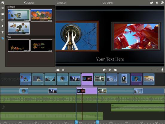 Pinnacle Studio - video editing Screenshots