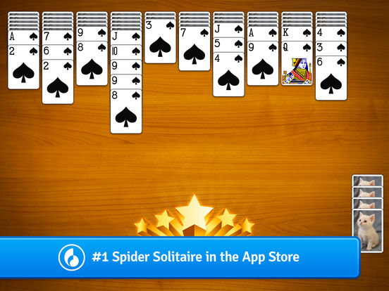 Spider Solitaire App