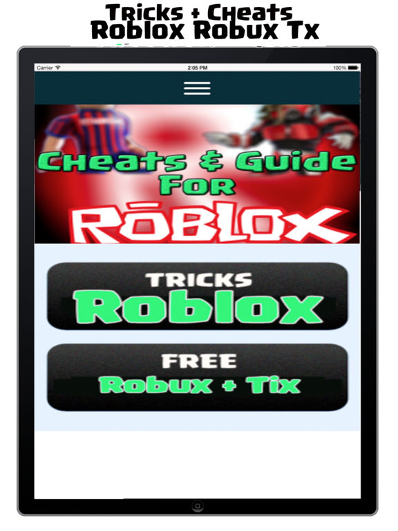 how to get free robux on ipad roblox
