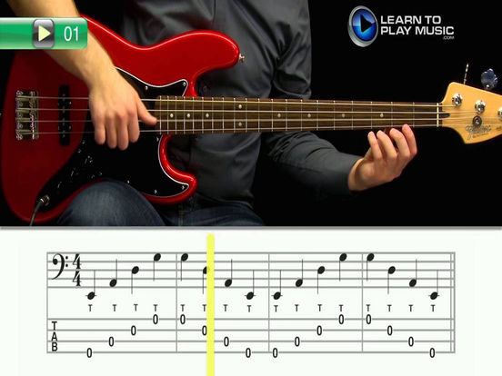 app shopper slap bass guitar learn how to play slap bass with videos music. Black Bedroom Furniture Sets. Home Design Ideas