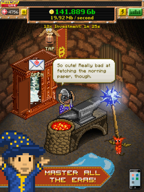 Bitcoin Billionaire Screenshot