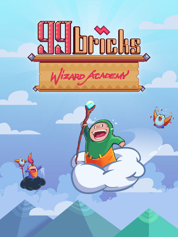99 Bricks Wizard Academy Screenshot