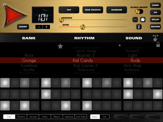 rock drum machine 4 update discchord. Black Bedroom Furniture Sets. Home Design Ideas