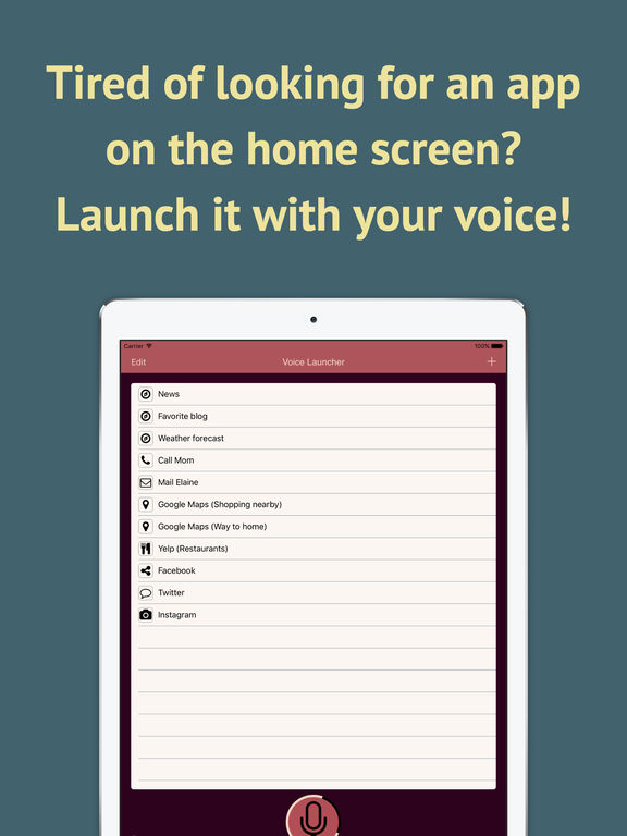 Voice Launcher IPA Cracked for iOS Free Download