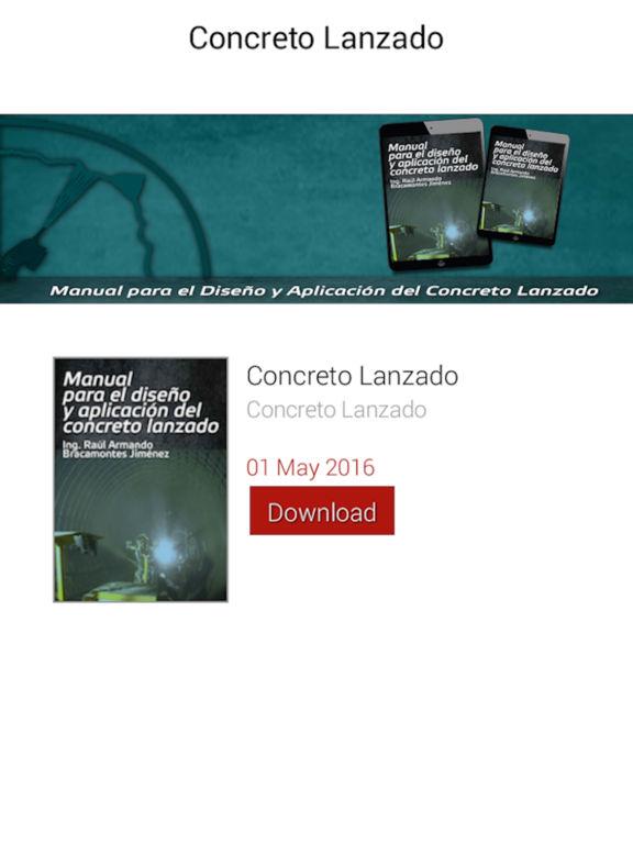manual para el diseño y aplicación del concreto lanzado pdf
