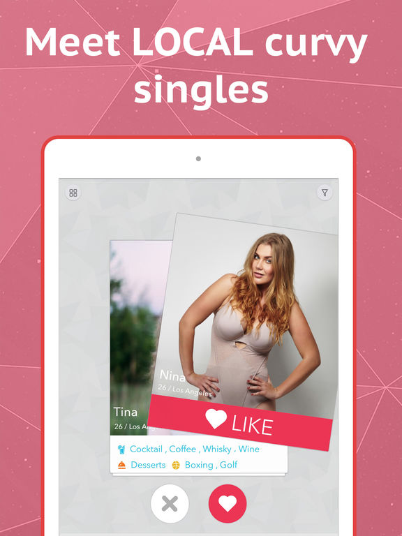 Big girl dating app