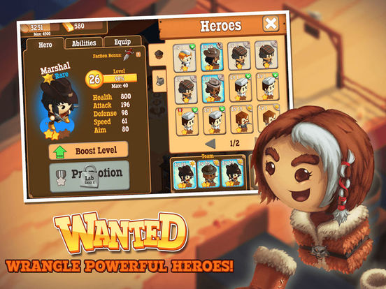 Little Bandits Screenshot