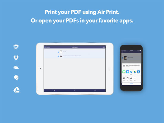 PDF it All: Scanner, PDF Printer and Converter Screenshot