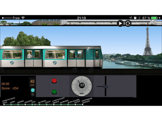 app shopper paris metro simulator games. Black Bedroom Furniture Sets. Home Design Ideas