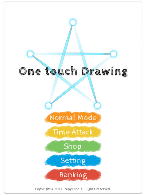 One touch Drawing Screenshot