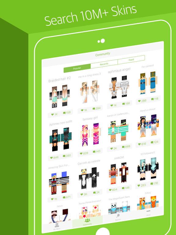 Skinseed - Skin Creator & Skins Editor for Minecraft Tips ...