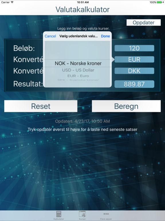 App Shopper: Valutaomregner Dansk - Valutakurser (Finance)